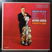 Antonio Janigro - Concertos For Cello LP Mint- Mono RCA LM-2365 USA 1960