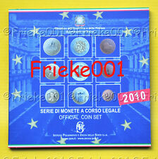 Italië - Officiële BU set 2010.(9 munten)