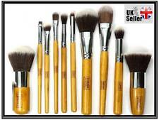 10 PZ Professionale Make Up Brush Set Kabuki Pennelli Set Fondazione Fard NUOVO