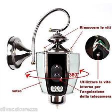 Telecamera  Occultata in Lampada SONY 800TVL 2 IR FILTRO MECCANICO