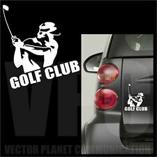 adesivo golf club sticker i love sport tuning auto casco laptop vetri