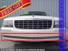 GTG 1997 - 1999 Cadillac Deville 1PC Polished Bumper Overlay Billet Grille Grill