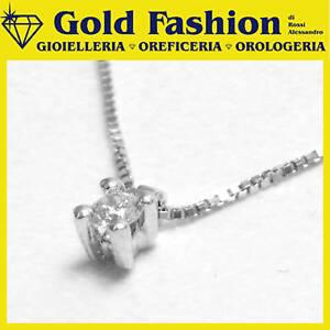 Collana oro con diamante ct. 0,05  - cod. GF5001
