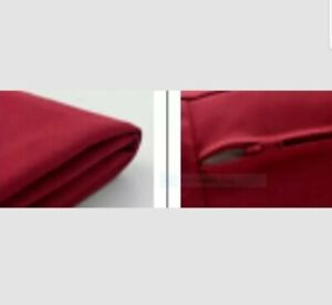 """IKEA Kivik Orrsta Red Chaise Lounge Brand NEW""""Longue""""Cover ONLY w/Faint Texture"""