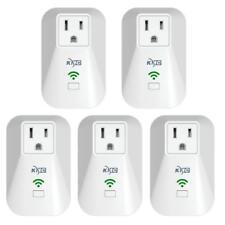 5x Smart Mini WiFi Plug Outlet Switch work with Google Echo Alexa Home Device US