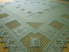 Tischdecken Handarbeit Herbstkranz  Decke 110x110cm