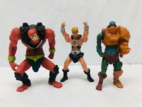 Masters of the Universe MOTU McDonalds Action Figures He-Man Beast Man at Arms