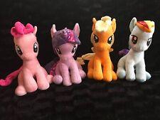 "My Little Pony Plush Lot Sitting 2014  10"" Twilight Sparkle Pinky Pie Apple Jack"