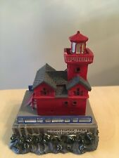 LEFTON CO MINIATURE LIGHTHOUSE HOLLAND HARBOR 1936 MUST SEE!