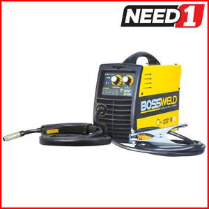 BOSSWELD M100 Gasless MIG Inverter Welder - 100amp 240V with 10amp Plug(Ex-Demo)