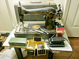 Vintage/Antique 1925 SINGER Class 127 Electric Sewing Machine No.AA-231872
