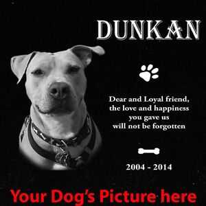 Dog, cat, Pet Headstone, tombstone Laser Engraved on the Grave Marker, memorial