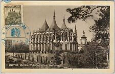 57136 -  Czechoslovakia - POSTAL HISTORY: MAXIMUM CARD 1937 - ARCHITECTURE