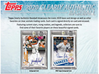 2020 TOPPS CLEARLY AUTHENTIC BASEBALL HOBBY LIVE RANDOM PLAYER 1 BOX BREAK #2
