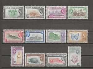 BRITISH HONDURAS 1953-62 SG 179/90 MNH Cat £100
