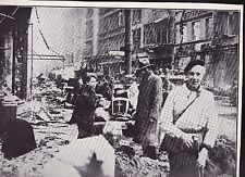 Cleaning the Unter den Linden  WWII Dispatch Photo News Service