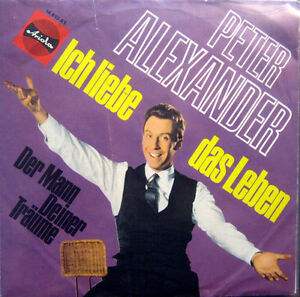 Single / PETER ALEXANDER / ARIOLA / DE PRESS / 196? / RAR / 18 810 AT /