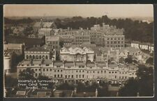 University from Cabot Tower, Bristol, Somerset, Vintage Viner & Co Postcard