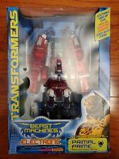 Transformers Beast Machines Wars PRIMAL PRIME Optimus Optimal NEW SEALED