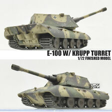 GERMAN E-100 W/ KRUPP TURRET 1/72 NON DIECAST MODEL FINISHED TANK MODEL COLLECT