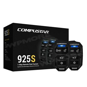 Compustar CS925-S 1-Way 1500-FT Range Remote Start Keyless Entry System CS920-S