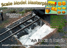 Ash Pit & Details Kit for ROUNDHOUSE-YORKE/Scale Model Masterpieces HO Fine NEW!
