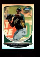 MICHAEL CHOICE ORIOLES MINT REFRACTOR ROOKIE CARD RC SP 2013 BOWMAN CHROME MINI