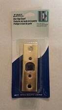 """First Watch 2000-Pb Solid Brass Door Edge Guard / Reinforcer for 1-3/8"""" Thick do"""