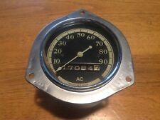 LQQK! 1932 ? OLDSMOBILE 6 & 8 Speedometer ODOMETER vintage AC spark plug Co