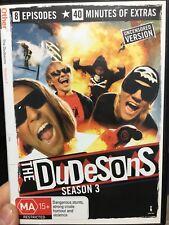 The Dudesons Season 3 region 4 DVD (stunts / comedy series) * rare *