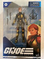 2020 Hasbro GI JOE Classified Series SCARLETT Action Figure Sealed New HTF
