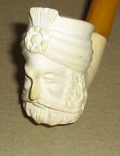 Vintage Meerschaum Pipe,Turkish, Sultan, Emir, Turban