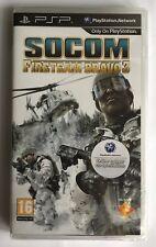 PSP SOCOM: Fire Team Bravo 3 (2010), UK Pal, Brand New & Sony Factory Sealed