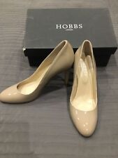 Hobbs Nude Patent Leather Rebecca Court Shoes. Size 39.5. Worn Once.