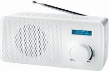 Denver DAB+ & FM Radio DAB-41 Weiß Teleskop-Antenne Dual Alarm BRANDNEU