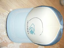 MENS ROXY LIGHT BLUE CALIFORNIA BASEBALL CAP