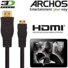 Archos 79, 101b Platinum, cobalto, childpad Tablet Pc Hdmi Mini Tv 3m Cable de plomo