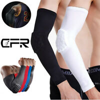 Elbow Brace Protection Sleeve Arm Compression Support Pad Elastic Basketball