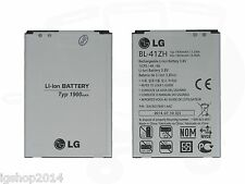 lg SPARE PARTS BATTERY ORIGINAL BL-41ZH-1 1900 MAH FOR LG L50 L Up LG Leon Joy