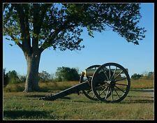 Civil War Reenactment Photograph, Cannon at Perryville Battlefield State Park