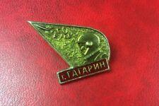 Pin Brooch Badge GAGARIN Soviet Space USSR RUSSIA . Kosmos
