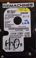 "Western Digital Caviar WD400BB-23FJA0 3.5"" HDD 40GB IDE Wiped Tested Free Ship!"