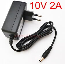 AC 100V-240V Adapter DC 10V 2A Switching Power Supply EU plug 5.5mm 20W 2000mA
