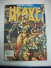 HEAVY METAL Fall 2001, Simon Bisley Cover, Mind Melt Issue