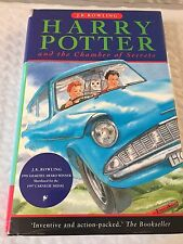 Harry Potter and The Chamber of Secrets Rowling Raincoast Books 1999 Hardcover