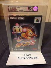 BAKU BOMBERMAN 2 NINTENDO 64 JAPAN RELEASE 1999 VGA 85 ARCHIVAL CASE