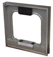 Präzisions- Rahmen- Wasserwaage 150 x 150 mm - Ablesung 0,1 mm