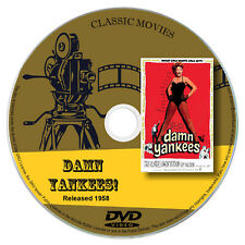 Damn Yankees 1958 Classic DVD Film - Comedy, Musical, Romance