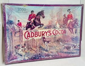 Brand New Vintage Cadbury Heritage Collection 1000pc Jigsaw Puzzle The Fox Hunt