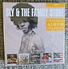 Sly & The Family Stone - Original Album Series 5CD Set 5  Albums + Bonus Tracks!